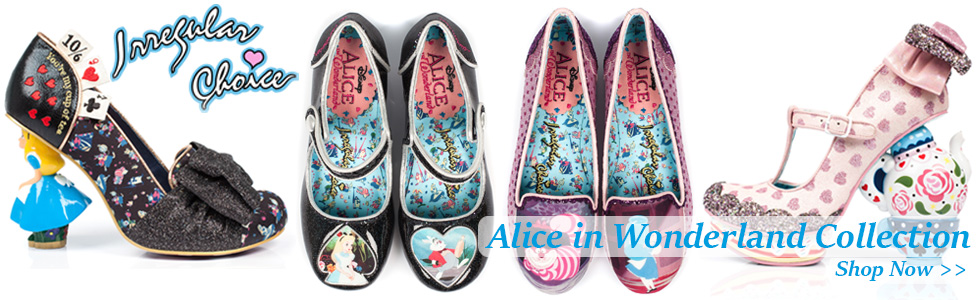 Irregular Choice Alice in Wonderland