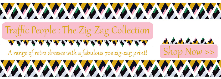 Traffic People Zig Zag Collection