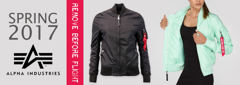 alpha industries womans bomber jackets