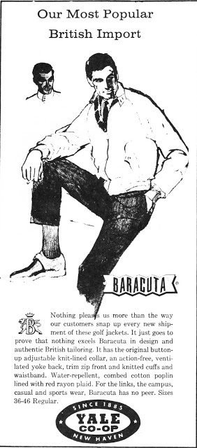 Baracuta US Advert