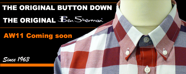 Ben Sherman Button Down Retro Mod Shirts