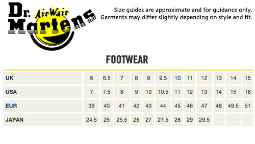 Doc Martens Mens Shoes Sizing Reviews