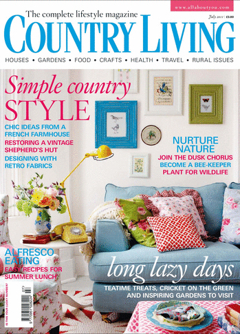 Country Living Atom Retro Editorial John Smedley Feature