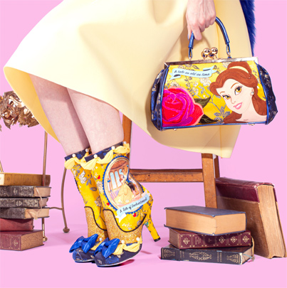 Irregular Choice x Disney Princesses Beauty & The Beast, Little Mermaid