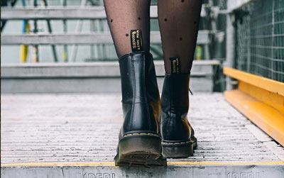 Dr Martens Boots for Women, Vegan Boots, Shoes, Creepers