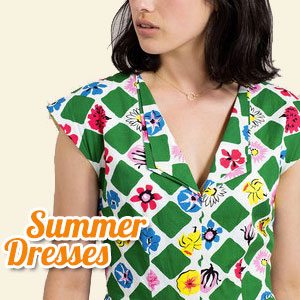 Retro & Vintage Summer Dresses