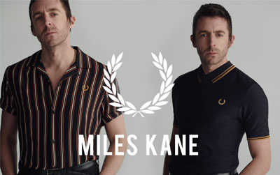 Fred Perry x Miles Kane Collection 2019