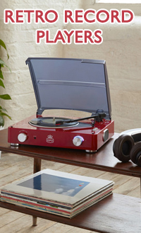 Retro Record Players
