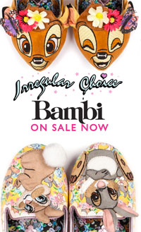 Irregular Choice x Disney's Bambi Shoes