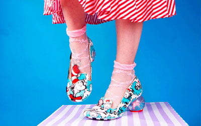 Irregular Choice The Cat in The Hat Collection