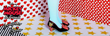 Irregular Choice Mickey Mouse Shoes