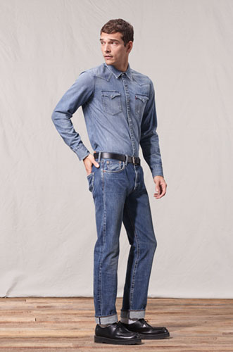 Levi's Men's Jeans Fit Guide