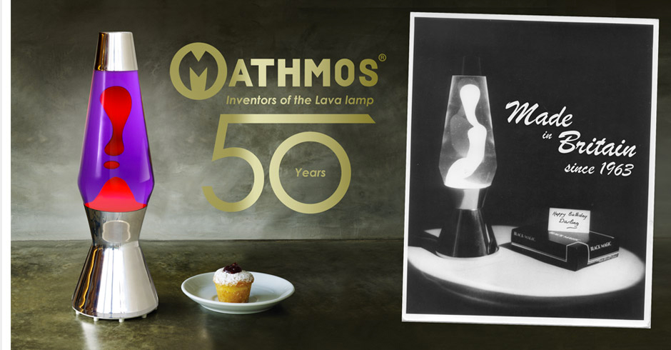 Mathmos Lava Lamps - Over 50 Years of Lava Lamp Heritage