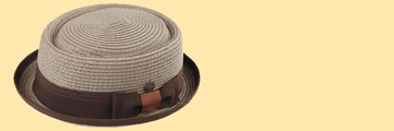 Mens & Womens Retro Hats, Beatle Hats, Pork Pie Hat
