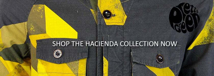 Pretty Green 90s Acid House Hacienda Collection