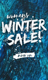Womens Winter Sale