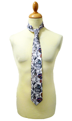 Harrington 1 LIKE NO OTHER Retro 60s Mod Silk Tie