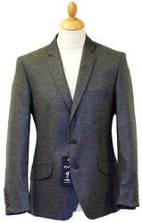 Serendipity 1 LIKE NO OTHER Mod Brit Cloth Blazer