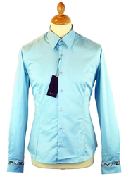 Olmec 1 LIKE NO OTHER Tailored Mod Twill Shirt WM
