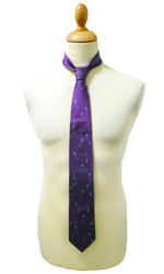 Huntsman 1 LIKE NO OTHER Retro 60s Silk Mens Tie