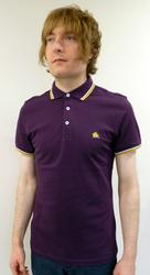 BARACUTA MENS ASHRIDGE POLO RETRO MOD POLO SHIRT