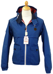 BARACUTA HOODED G9 JACKET RUSSELL HARRINGTON MOD