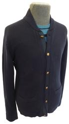 BEN SHERMAN MENS BASEBALL COLLAR CARDIGAN RETRO