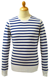 BEN SHERMAN RETRO MOD SIXTIES BREATON SWEATER
