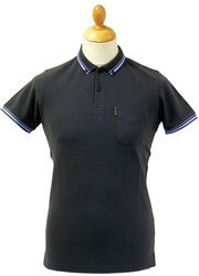 BEN SHERMAN BUTTON DOWN ROMFORD POLO SHIRT MOD