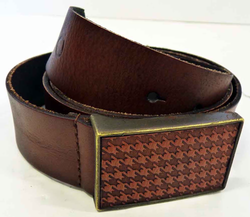 BEN SHERMAN DOGTOOTH BUCKLE BELT RETRO MOD BELTS