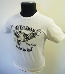 BEN SHERMAN SCOOTER CLUB T-SHIRTS MOD TSHIRT RETRO