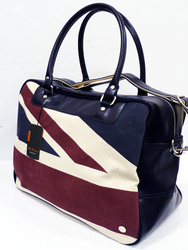BEN SHERMAN RETRO MOD SIXTIES UNION JACK HOLDALL