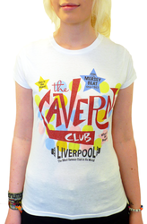 CAVERN CLUB T-SHIRT WOMENS CAVERN VIBE TSHIRT MOD