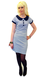 RETRO MOD SIXTIES DRESS DAISY DRESS RETRO 60s MOD