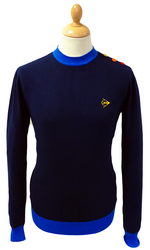 DUNLOP RETRO MOD BRETON JUMPER RETRO SWEATER