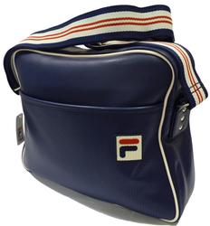 FILA VINTAGE SHOULDER BAG RETRO FLIGHT BAG RETRO