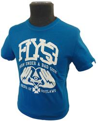 FLY53 FLY 53 MENS BAD SIGN T-SHIRT RETRO INDIE MOD