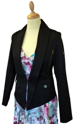 FLY53 FLY 53 WOMENS UPSHOT RETRO MOD DINNER JACKET