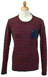 FARAH VINTAGE RETRO JUMPER DUFFY T-SHIRT SWEATER