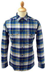 FARAH VINTAGE SHIRT RETRO MOD AINSWORTH SHIRT