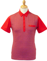 FARAH VINTAGE JACKMAN POLO RETRO MOD FIFTIES POLO