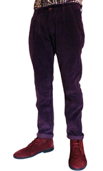FARAH VINTAGE RILEY CORD TROUSERS RETRO TROUSERS