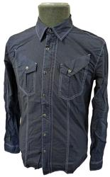 FULL CIRCLE RETRO MENS INDIE SHIRT JACKET SANEE