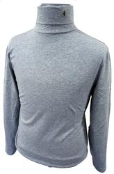 GABICCI VINTAGE RETRO MENS ROLL NECK TOP CLARENCE