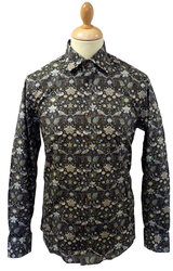 GIBSON LONDON LIBERTY SHIRT RETRO MOD SIXTIES