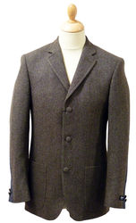 GIBSON LONDON SPITALFIELDS JACKET MOD BLAZER RETRO