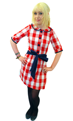 GONSALVES AND HALL RETRO DRESS SIXTIES DRESS MOD