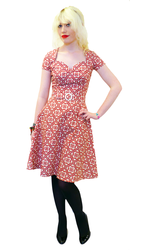HEARTBREAKER RETRO FIFTIES VINTAGE DRESS AIMEE 50s