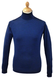 JOHN SMEDLEY BELVOIR ROLL NECK TURTLENECK JUMPER
