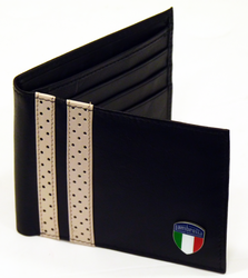 LAMBRETTA RETRO MOD INDIE RACING STRIPE WALLET 60S